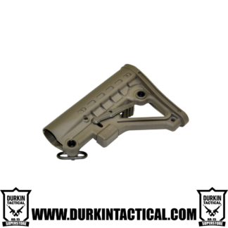 Mil-Spec Adjustable Stock with QR Sling Adapter - OD Green