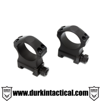 "30mm Tactical Scope Rings Medium 1.25"" Height"