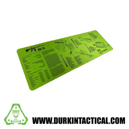 Durkin Tactical AR15 Build Mat - Durkin Green