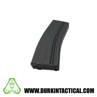 6.5 Grendel AR-15 Mag 25 Round   Stainless Steel Black