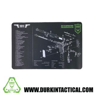 Durkin Tactical 1911 Pistol Build Mat