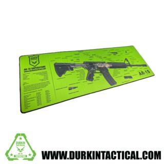 Durkin Tactical Premium Jumbo AR-15 Build Mat - Green
