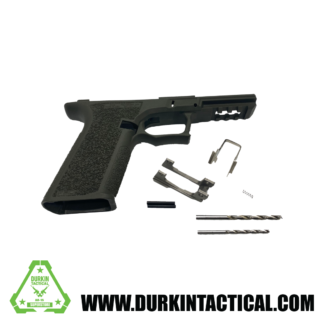 PF45 80% Pistol Frame: OD GREEN