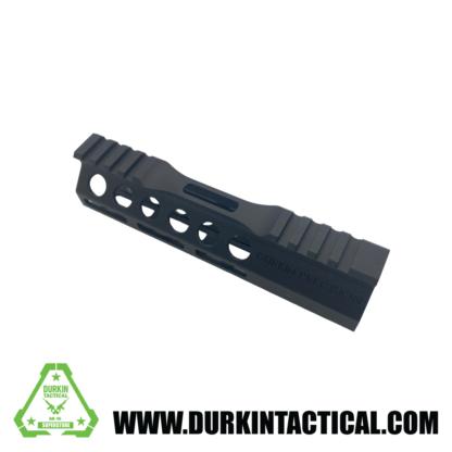 "Durkin Precision 7"" Free Float M-Lok Handguard, Clamp On"