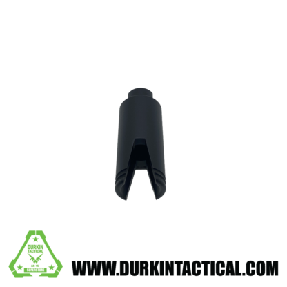 AR-15 Slim Line Sharkmouth Flash Can Muzzle | Black
