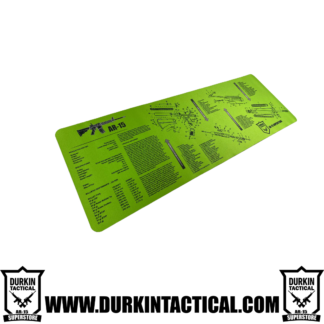 Durkin Tactical AR-15 Build Mat - Large Green