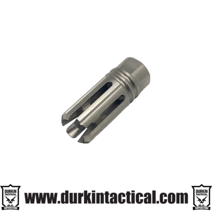 1/2x28 6-slot Muzzle Brake Stainless Steel USA made