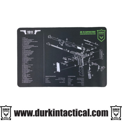 1911 Durkin Tactical Build Mat