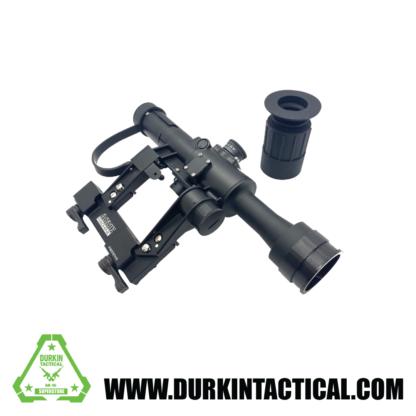 ACME Machine 4X24 SVD Rifle Scope, Illuminated w/ AK Mount