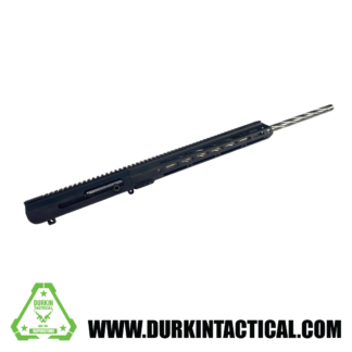 """.308, 24"""" Stainless Steel Spiral Fluted Heavy Barrel, 1:10 Twist, Rifle Length Gas System, 15"""" M-LOK HG, Side Charging"""
