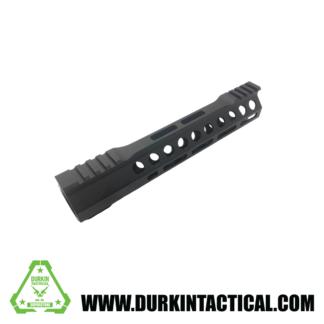 "Durkin Precision 10"" Free Float M-Lok Handguard, Clamp On."