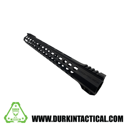 "Durkin Precision 15"" Free Float M-Lok Handguard, Clamp On."