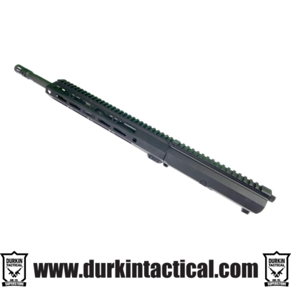 "5.56 NATO, 16"" Parkerized M4 Barrel, 1:9 Twist, Carbine Gas System, 12"" MLOK HG, Side Charging"