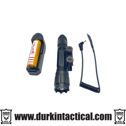 Tactical Flashlight with Integral Mount