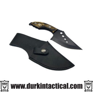 Knife, Wide Saw Tooth | Black