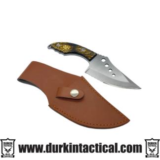 Knife Sawtooth Silver