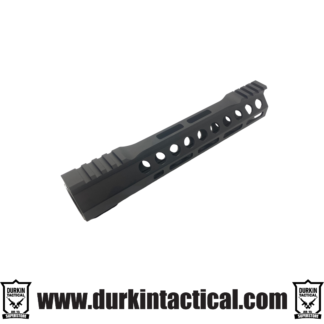 "Durkin Precision 10"" Free Float, M-LOK Handguard, Clamp On."