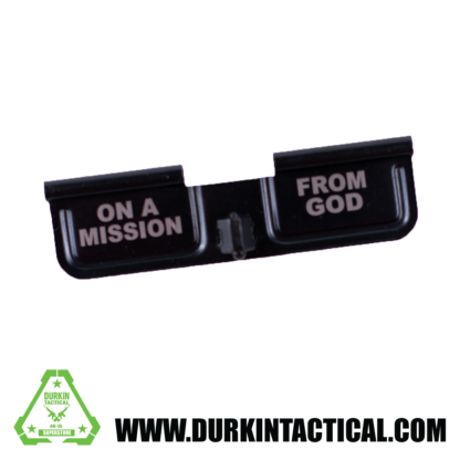 Laser Engraved Ejection Port Dust Cover | On A Mission From God
