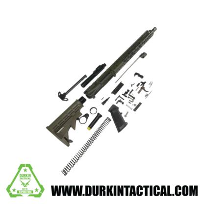 "The Predator 16"" 5.56 / .223 AR-15 Build Kit - OD GREEN"