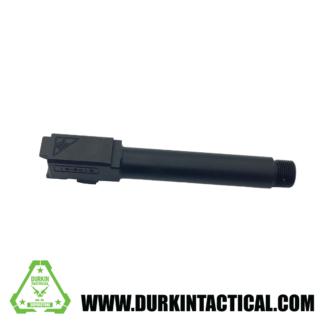 Tactical Kinetics 9MM Glock 19 Replacement Barrel | Nitride Finish | Threaded