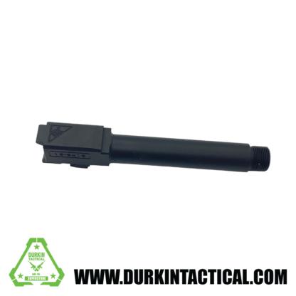 Tactical Kinetics 9MM Glock 19 Replacement Barrel   Nitride Finish   Threaded