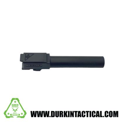 Tactical Kinetics 9MM Glock 19 Replacement Barrel | Nitride Finish | Unthreaded