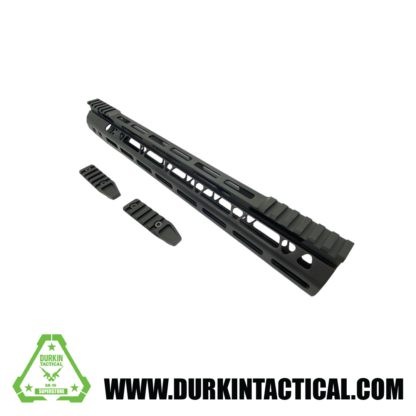 ".308 ACME Super Slim, M-LOK, Cutaway, 15"" Handguard, Black"