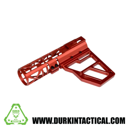Presma Skeletonized AR Pistol Brace - Red