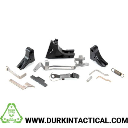 Polymer80 9MM Frame Parts Kit Complete with a Trigger Assembly - Black