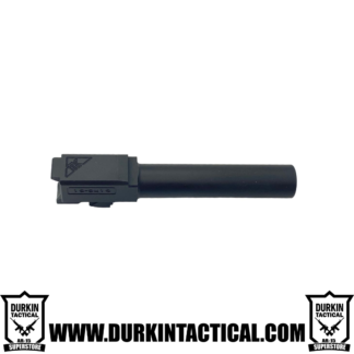 Tactical Kinetics 9MM Glock 19 Replacement Barrel | Nitride Finish | Unthreaded