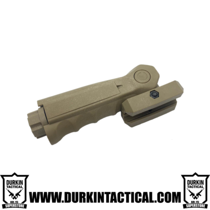 Tactical folding Foregrip FDE