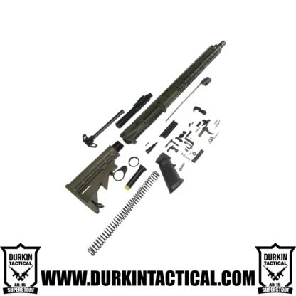 "OD Green Predator 16"" AR-15 Build Kit"