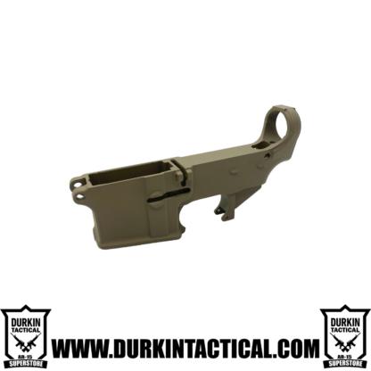 Durkin Tactical AR-15 80% Lower Receiver - FDE