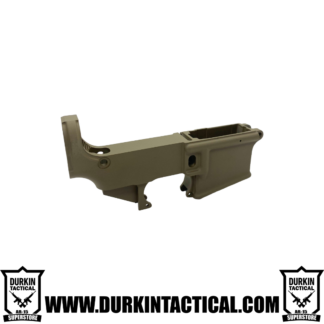 Durkin Tactical AR-15 80% Lower Receiver - FDE