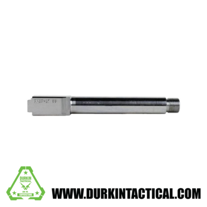 9MM Glock 17 Replacement Barrel Stainless Steel Finish THREADED