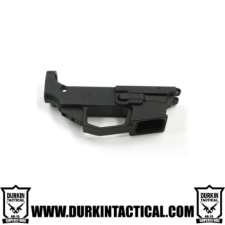 9mm AR9 80% Lower Receiver with Extractor and Mag Release