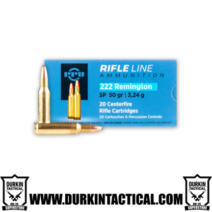 Rifle Line Ammo 222 Remington SP 50 Grain