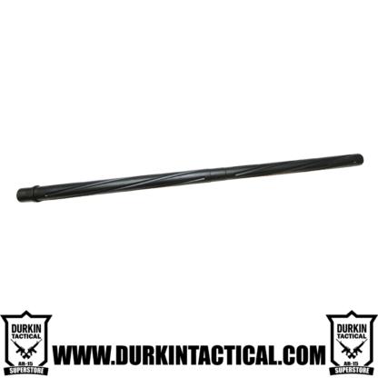 "24"" .223 Wylde, Bullnose Black Nitride, Spiral Flute, Rifle Length Gas System, 1:8 Twist"