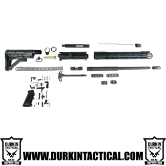 "16"" 7.62 X 39 Durkin Tactical AR-15 Build Kit - Black"