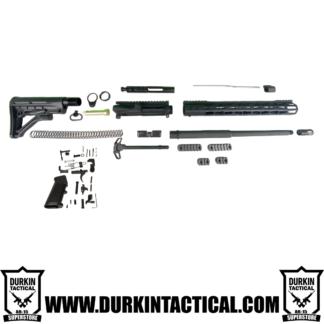 """16"""" 7.62 X 39 Durkin Tactical AR-15 Build Kit - Black"""