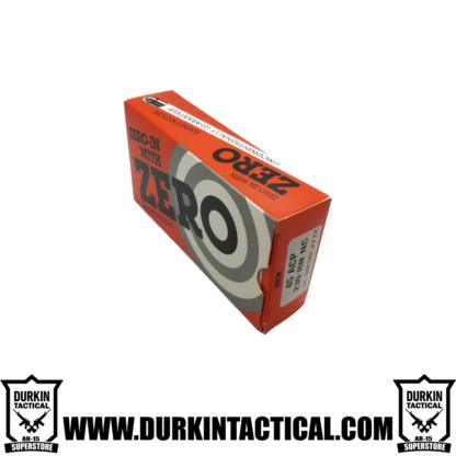 Zero Ammunition 45 ACP, 230 RN NC 50 Round Box