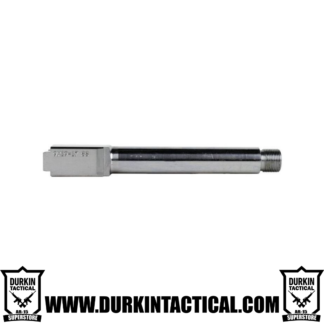 9MM Glock 17 Replacement Barrel - Stainless Steel Finish Threaded Unbranded
