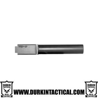 9MM Glock 19 Replacement Barrel Black Nitride Finish Unbranded