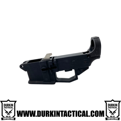 9MM AR9 80% Polymer Lower Receiver With Extractor And Mag Release
