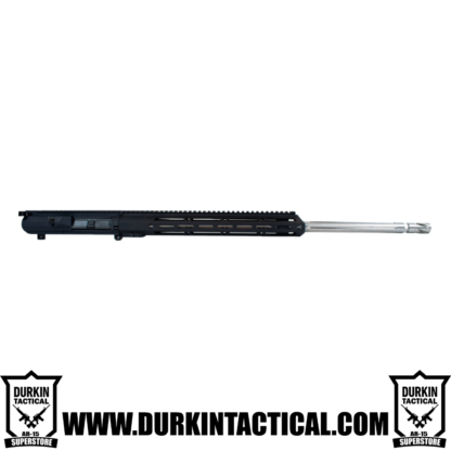 "6.5 Creedmoor, 24"" Stainless Steel Straight Fluted Heavy Barrel, 1:8 Twist, Rifle Length Gas System, 15"" MLOK Split Rail Upper Assembly"