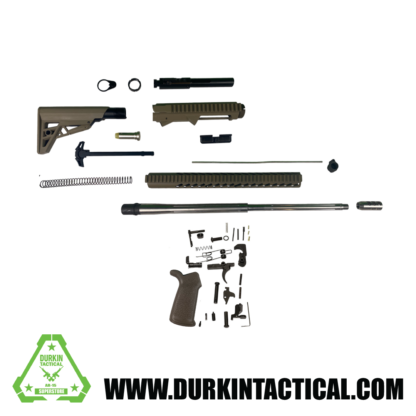 "24"" .308 Premium Durkin Tactical Build Kit - FDE"