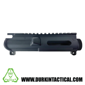 AM-9, 9MM, Upper Receiver, Forged, Stripped, Anodized Black