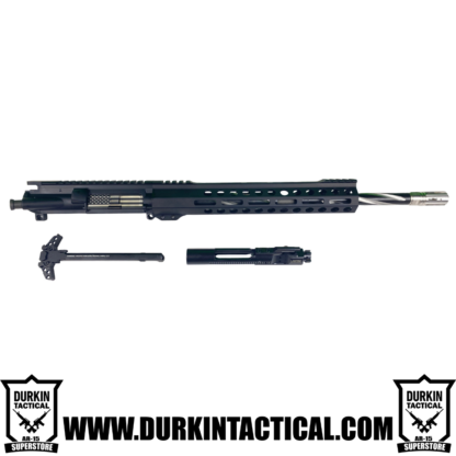 "16"" .223 Wylde, Parkerized M4 Barrel, 1:8 Twist, 12"" MLOK Durkin Precision Handguard, Rear Charging Upper"