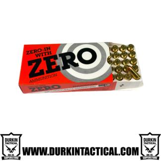 Zero-in With Zero Ammunition 40 S&W 165 Grain TCFM NC - 50 Rounds