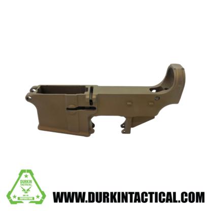 AR-15 80% Cerakote Lower Receiver - Burnt Bronze